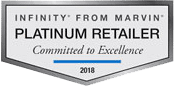 Infinity from Marvin Platinum Retailer 2018